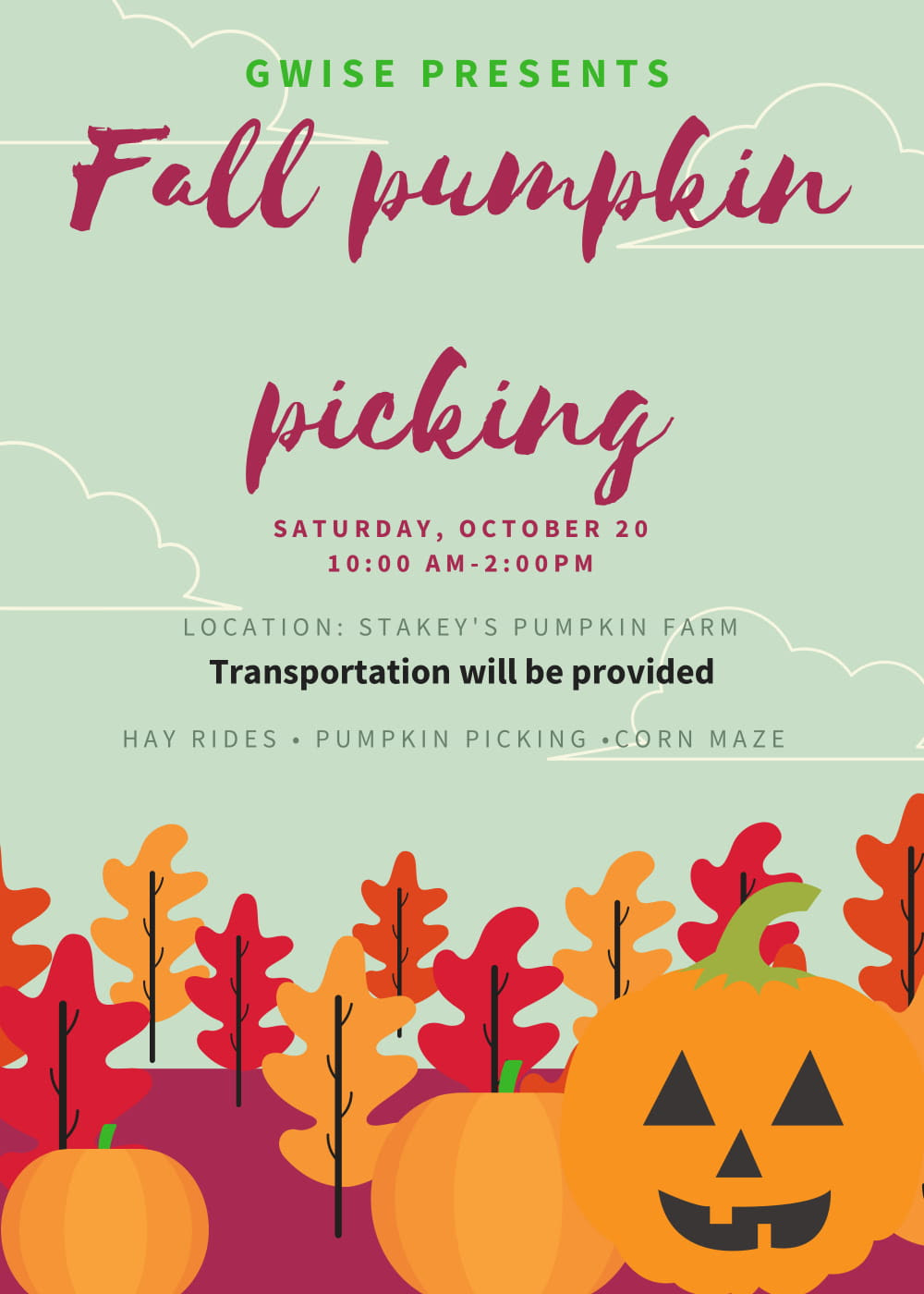 2018 Pumpkin Picking