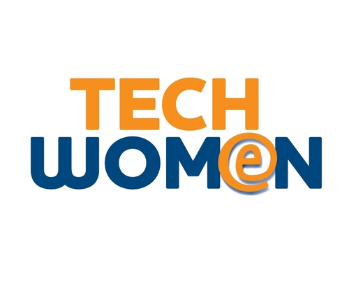 Stylized Tech Women words