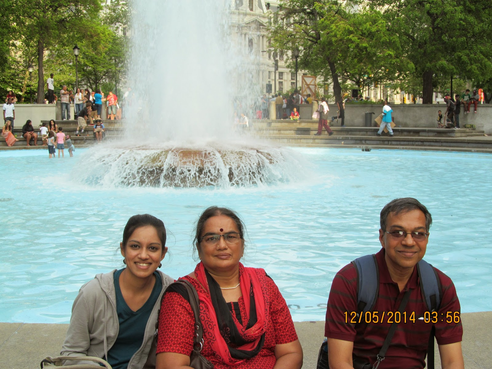 Chilling with my folks in Philly after my thesis defense.